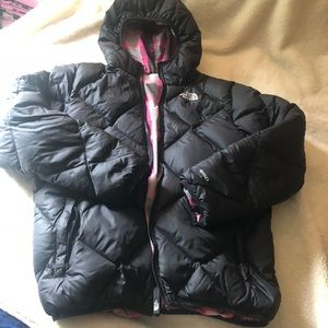 The North Face reversible Goose Down cost Girls XL